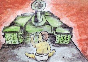 Рисуют дети Победу
