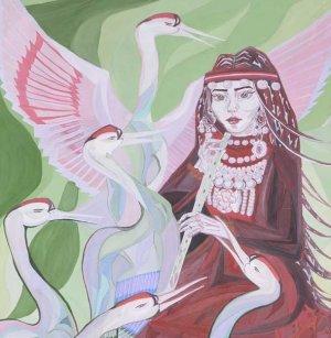 Творческий полет на крыльях легенд