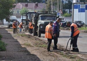 В Ишимбае продолжается капитальный ремонт дорог