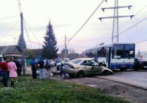 В четырех авариях пострадали семь человек