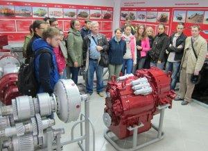 Студенты и преподаватели УГАТУ посетили  завод «Витязь»