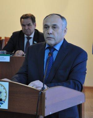 Главой администрации муниципального района  переизбран Марат Гайсин