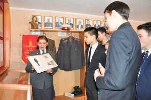 В Ишимбайском музее МВД проходят уроки мужества