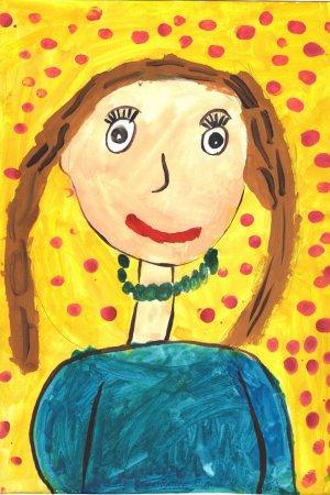 Вероника Султангареева, 4 года