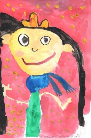 Дарина Мухачева, 4 года