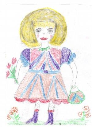 Виктория Ямщикова, 7 лет,