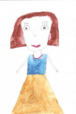 Роза Валеева, 6 лет