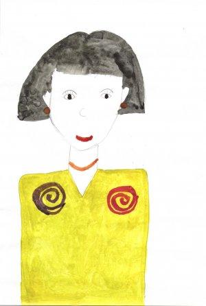 Гузель Гарифуллина, 6 лет