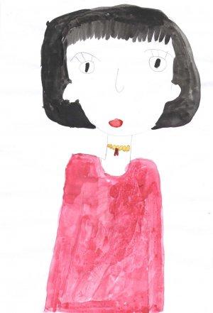 Альбина Сафина, 6 лет