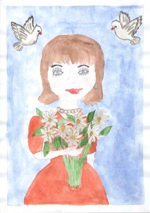 Виктория Косачева, 5 лет