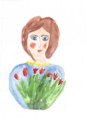 Валентина Данилова, 7 лет