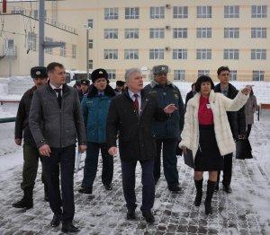 В Башкирском кадетском корпусе представили нового директора