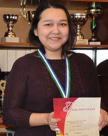 Уроженка Ишимбая возглавила мировой шашечный рейтинг