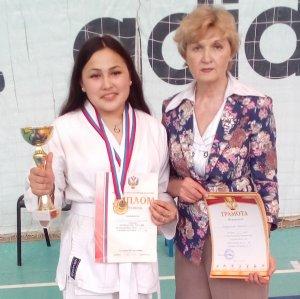 Ишимбайская спортсменка стала чемпионкой первенства России по панкратиону