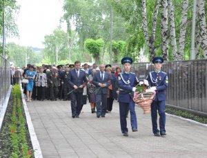 В Ишимбае состоялся митинг, посвященный Дню памяти и скорби