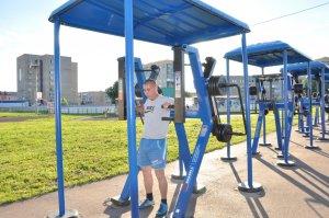 В Ишимбае в День физкультурника откроют уличный тренажерный комплекс