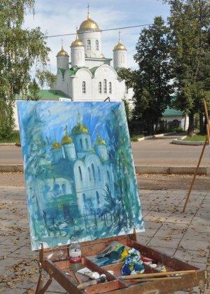 Художники Башкирии провели пленэр в Ишимбае