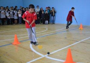 В Ишимбайском районе открыли обновленные спортзалы