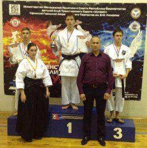 Ишимбайские каратэки завоевали семь медалей в Уфе