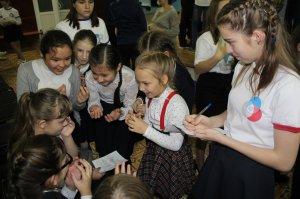 В Ишимбае лицеисты отметили день рождения «Российского движения школьников