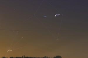 Жители Башкирии увидят рождественское соединение Марса и Юпитера
