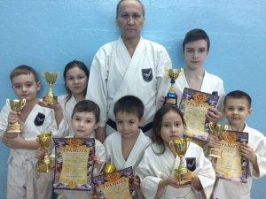 Юные ишимбайские каратэки успешно выступили в Уфе