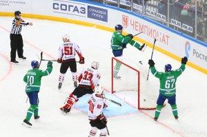 «Салават Юлаев» вышел вперед в серии с омским «Авангардом»