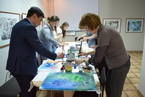 В Ишимбае провели  мастер-класс по горячему батику