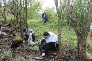 Активисты ОНФ в Башкирии провели экологическую акцию в Ишимбайском районе