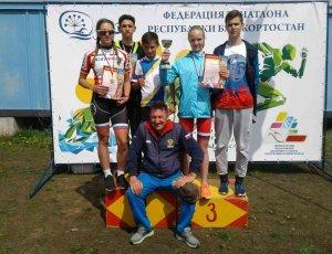 Ишимбайские триатлонисты отличились в городе Агидели