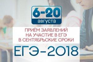 С 6 августа выпускники Башкирии могут подать заявление на пересдачу ЕГЭ в с ...