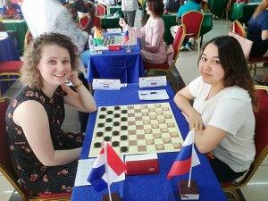Воспитанница ишимбайской шашечной школы Айгуль Идрисова - 6-ая на этапе Куб ...