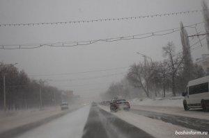 В Башкирии прогнозируется временное установление снежного покрова