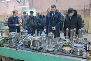 Ишимбайский завод «Витязь» посетила делегация «Транснефти»