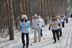 В Ишимбае активистки местного женсовета взяли в руки лыжные палки