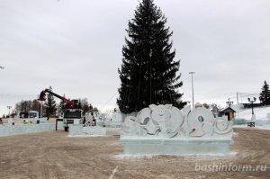 Во всех районах и городах Башкирии сегодня открываются новогодние городки
