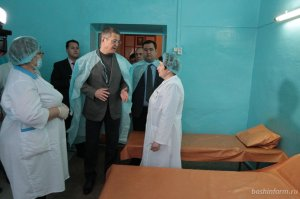 Радий Хабиров дал поручение отремонтировать больницу в селе Петровском