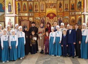 Супруга Радия Хабирова посетила монастырь Святой Варвары в Ишимбайском райо ...