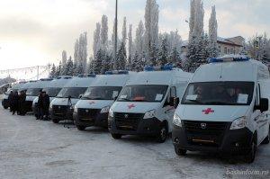 Городские и районные больницы Башкирии получили 23 автомобиля скорой медпом ...