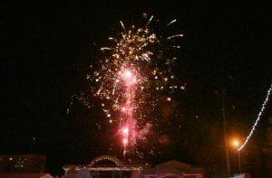 Новогодний салют в Ишимбае