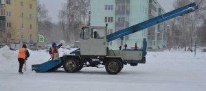 В Ишимбае создан штаб по снегоочистке и содержанию дорог в зимнее время