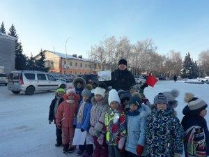 Ишимбайские дошколята напомнили взрослым о необходимости бережно относиться к своему городу