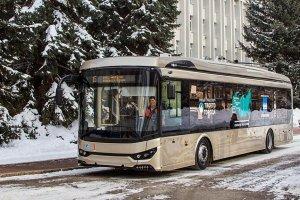 На городских маршрутах в Стерлитамаке начал курсировать троллейбус без «рогов»
