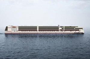 Новейшему российскому круизному лайнеру присвоят имя Мустая Карима